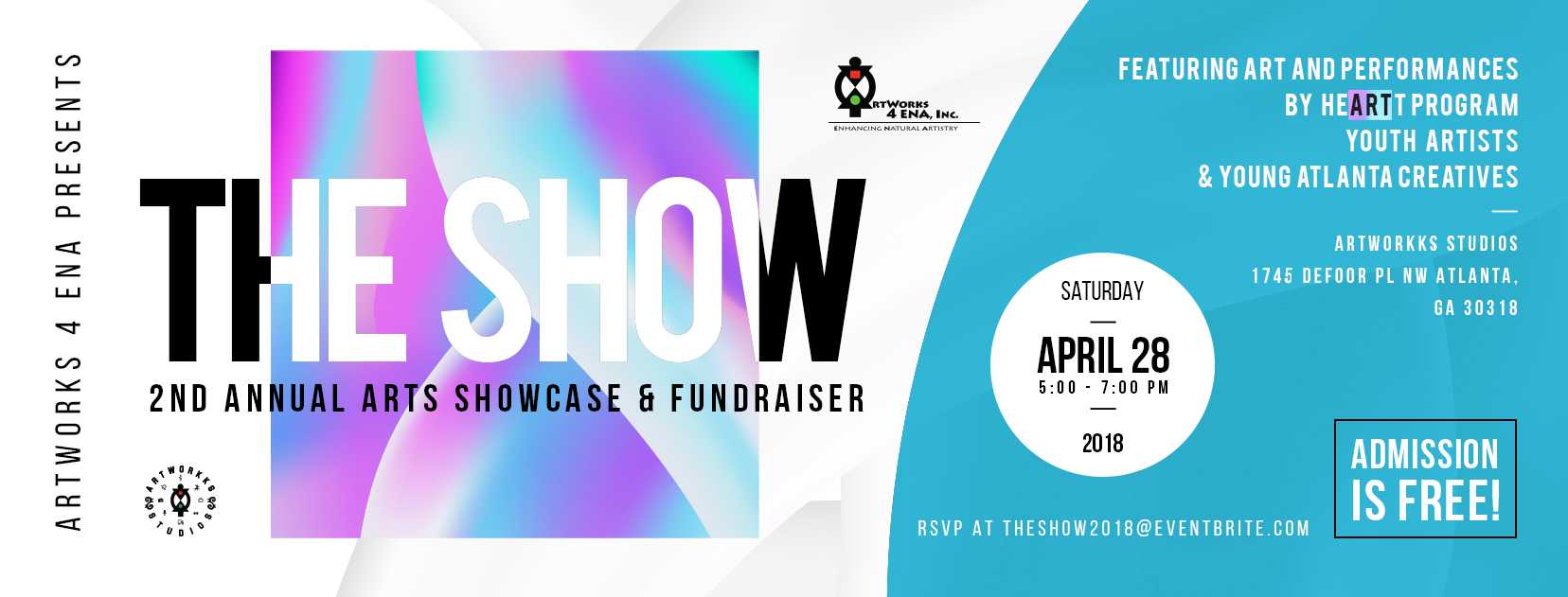 Click on the image to learn more about our upcoming Arts Showcase and Fundraiser - The Show!